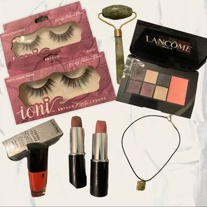 Lux Lancôme Makeup Bundle: lippy + shadow + polish
